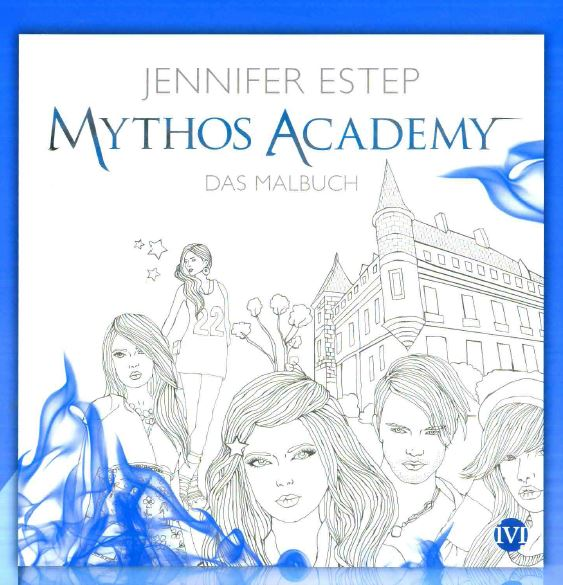 Mythos Academy coloring book